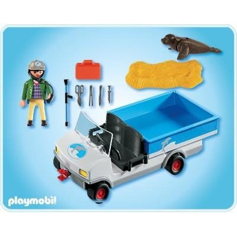 Transporte parque acu tico for Casa playmobil 123